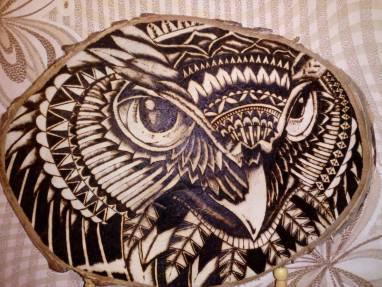 Декоративная ключница,рисунок выжжен,хэндмэйд ручной работы
