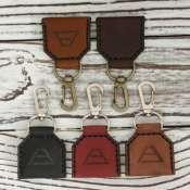 Брелок для ключей с карманом