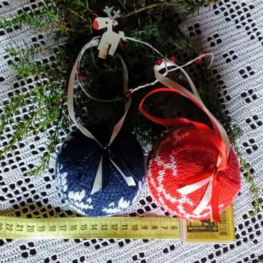 Подарок Шар на ёлку Новогодний  ручной работы