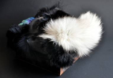 Монсрошкатулка чёрная со щупальцами ручной работы