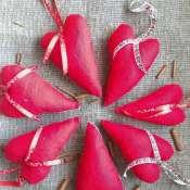 Сердца-валентинки