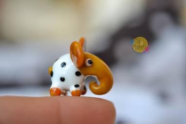 """Брошь-игла """"Слон"""". ручной работы"""