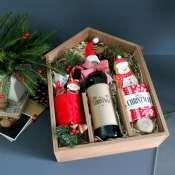 VIP набор к новому году в деревянной коробке