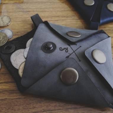 Монетница/ кошелек для монет ручной работы