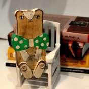 деревянная игрушка Мишка