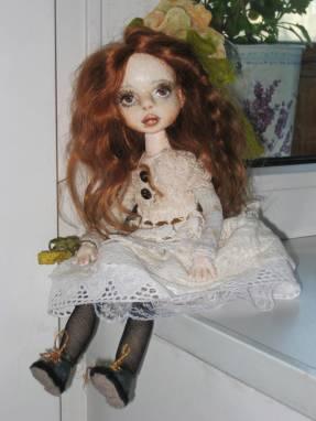 Авторская кукла Люси ручной работы