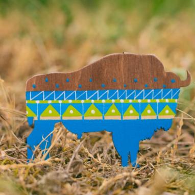 Деревянный белорусский сувенир ручной работы