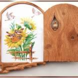 Рамка Вышивка с воробьями