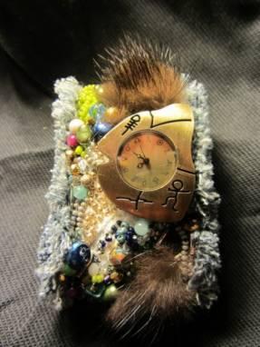 Часы «Ice Age» ручной работы