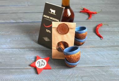 Подарок для мужчины в деревянной коробке ручной работы
