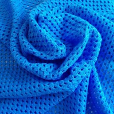 """Плед """"Голубое облачко"""" ручной работы"""