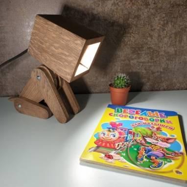Дружок светильник для детей ручной работы
