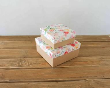Крафт упаковка для подарка  ручной работы