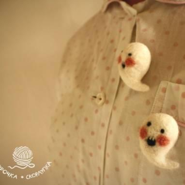 Маленькие ручные призраки  ручной работы