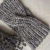 Вязаная повязка