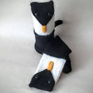 Варежки Пингвины