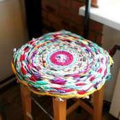 коврик на стул мягкий
