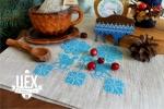 """подарок партнерам в белорусском стиле """"Синий"""""""