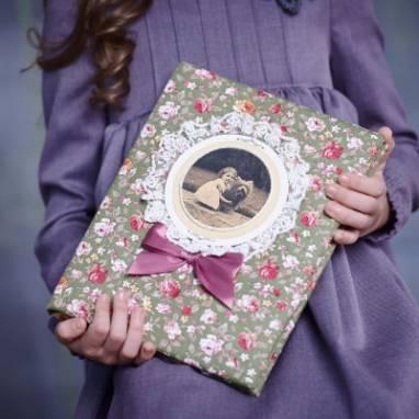 Детский фотоальбом ручной работы ручной работы