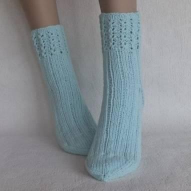 """Носки-домашняя обувь """" Бриз """" ручной работы"""