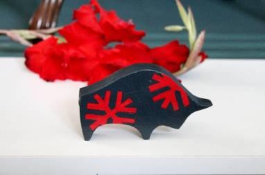 Символ года 2021 Бык деревянная игрушка ручной работы