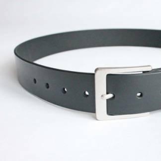 Ремень кожаный (black casual 2)