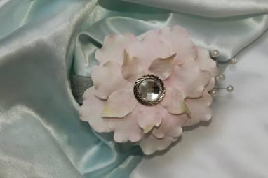 свадебный ободок ручной работы
