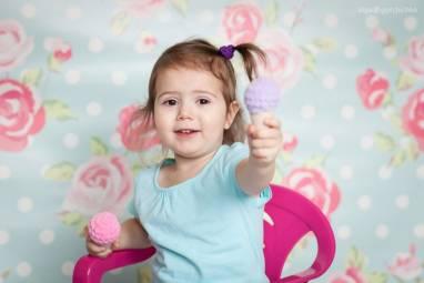 Мягкая игрушка Мороженое ручной работы