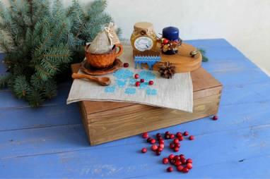Подарочный набор в белорусском стиле ручной работы
