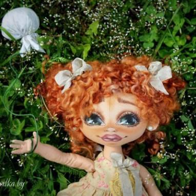 Коллекционная кукла Анна ручной работы