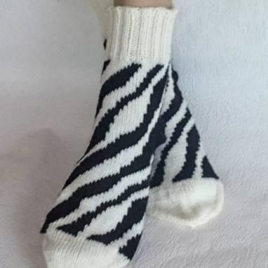 """Носки -домашняя обувь """"Сафари""""  ручной работы"""