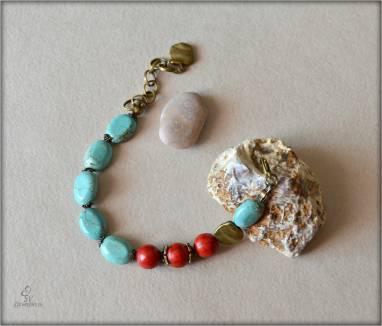 Комплект украшений : браслеты и серьги. ручной работы