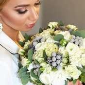 Букет невесты с брунией
