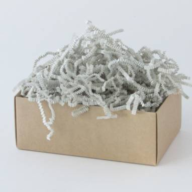 Бумажная стружка для упаковки ручной работы