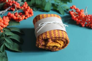 Вязанные шерстяные носки  ручной работы