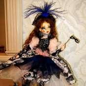 Авторская кукла Коломбина