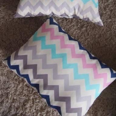 Интерьерная подушка декоративная   ручной работы