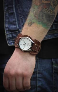 Ремень браслет для часов ручной работы