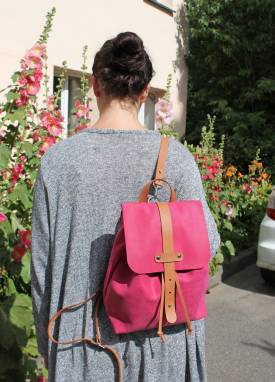 Рюкзак кожаный Aapeli ручной работы