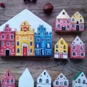 Домики деревянные декоративные
