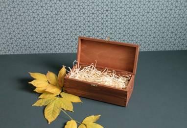 Деревянная коробка для виски ручной работы