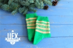 Подарок с хлопушкой и носочками