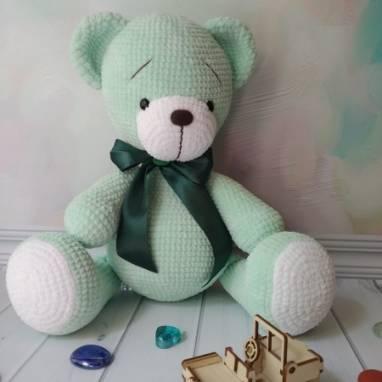 Плюшевый медведь ручной работы