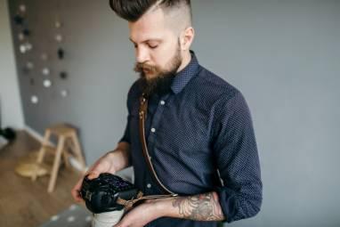 Плечевой ремень на 1 камеру ручной работы