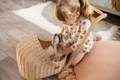 Коляска для детских игр  ручной работы