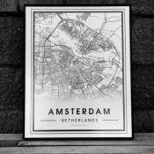 Карта любого города на заказ