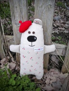 Мягкая игрушка медвежонок ручной работы