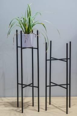 Металлические подставки для комнатных растений ручной работы