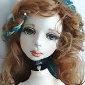 Будуарная кукла Констанция