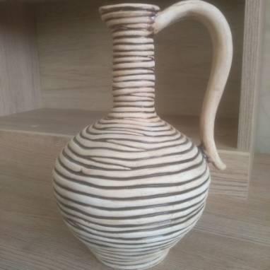 Кувшин керамический ручной работы
